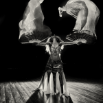 Ustadza Azra with Bellydance fan veils