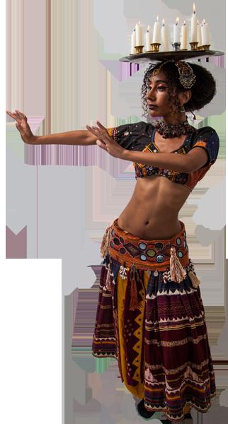 Ustadza Azra tribal bellydance