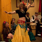 New Moon Tribal School of Bellydance Level 1 Students