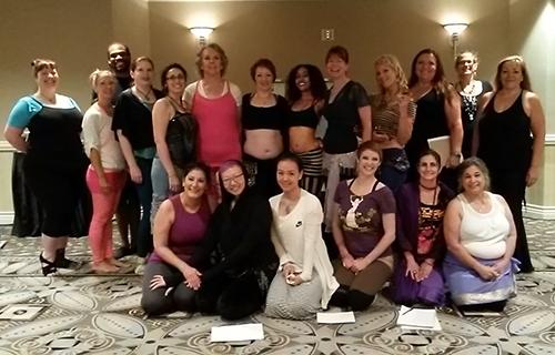 Las Vegas Bellydance Intensive 2015 zill workshop Ustadza Azra LVBDI